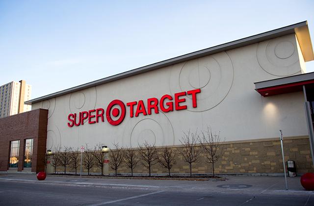 Passeando pela Super Target