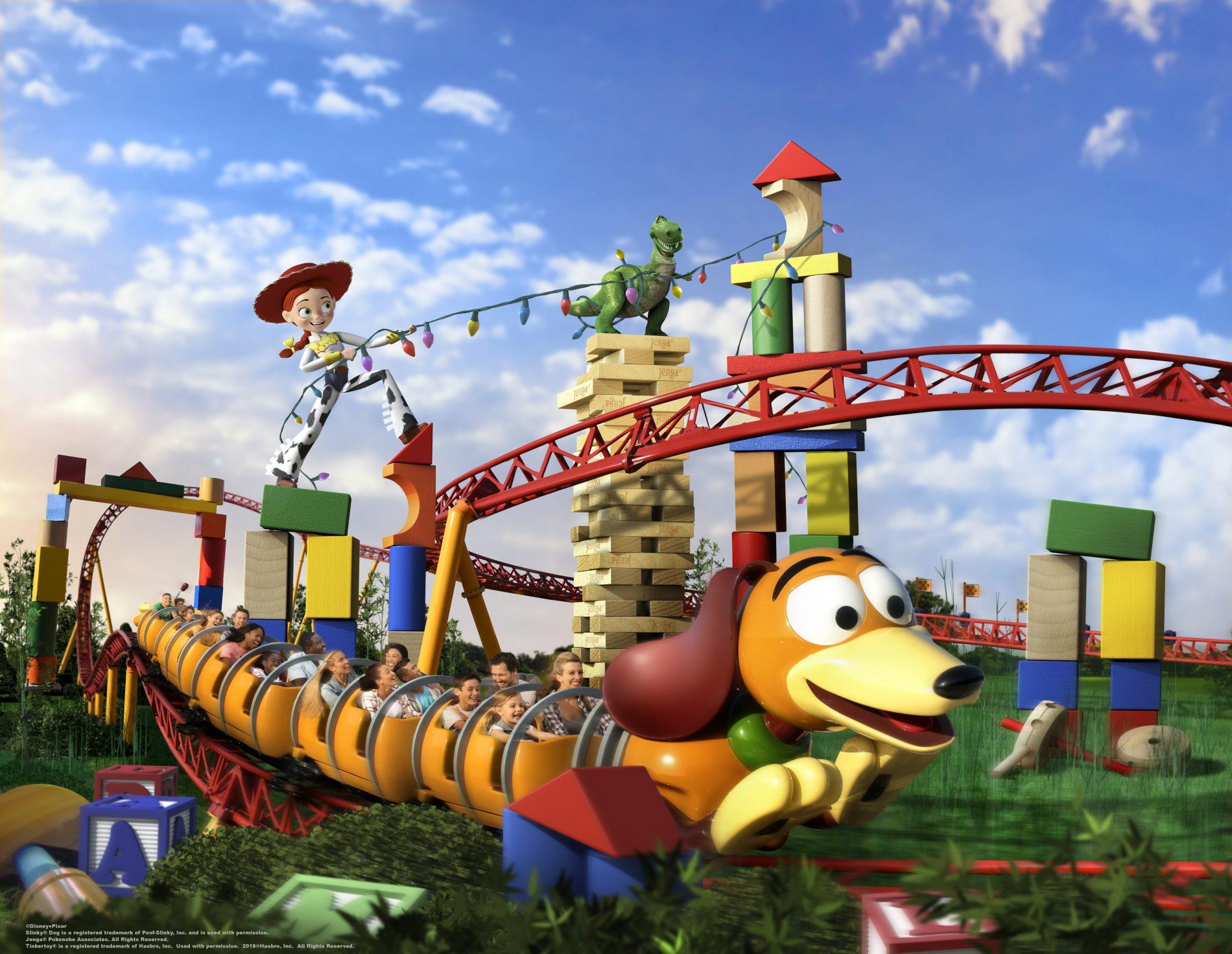 LIVE de inauguração do Toy Story Land!